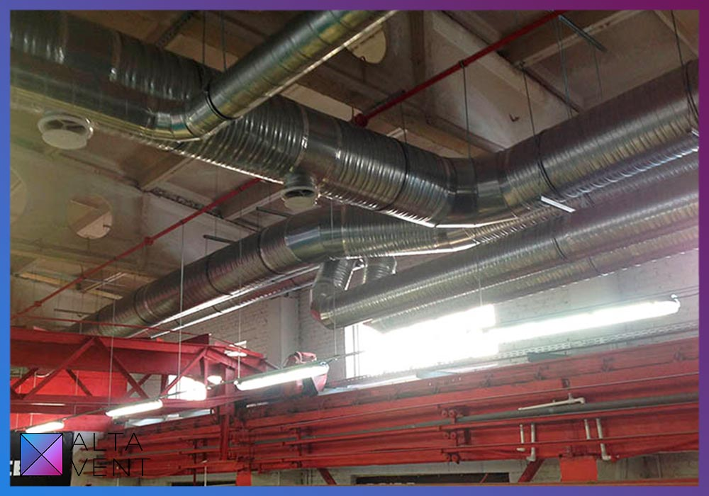 Системы вентиляции для больших помещений