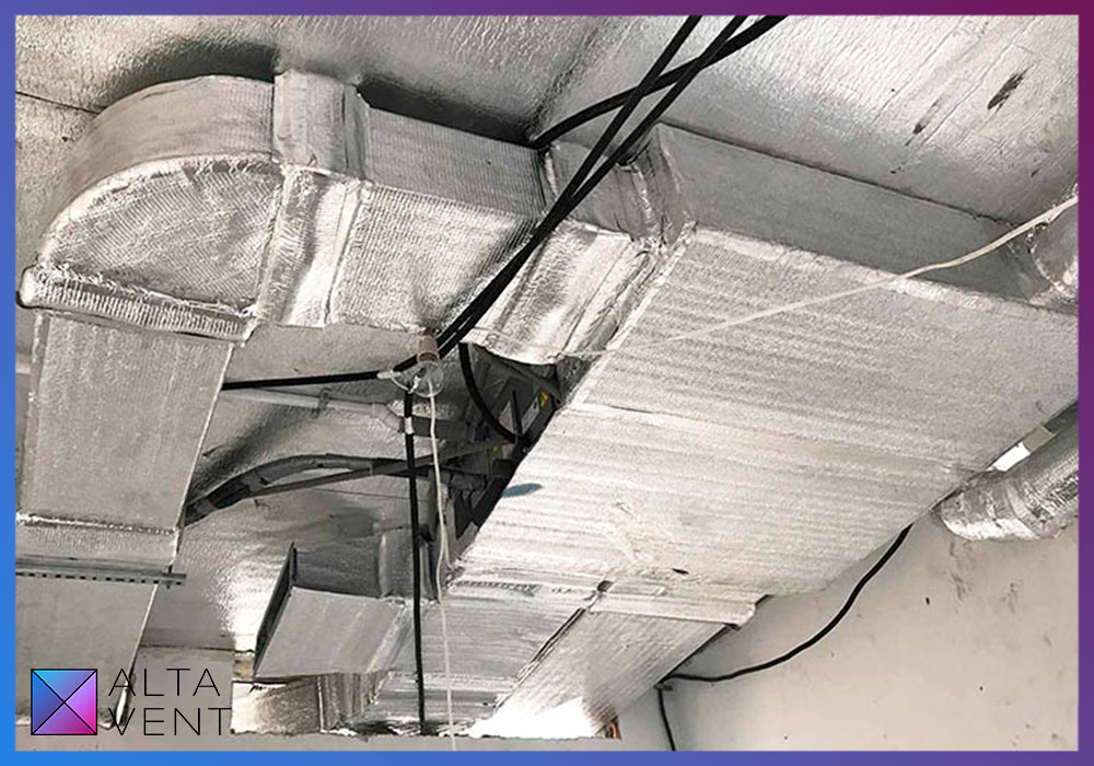 Проект вентиляции и кондиционеры Mitsubishi electric в пентхаусе в Москве