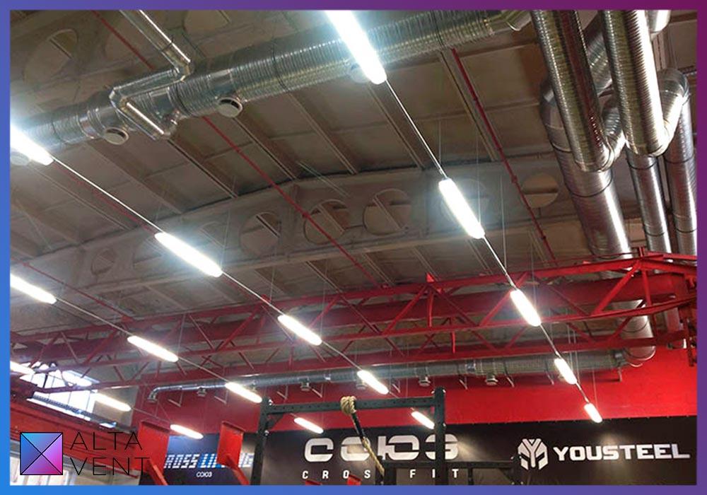 Вытяжные установки для спортивных залов в Москве