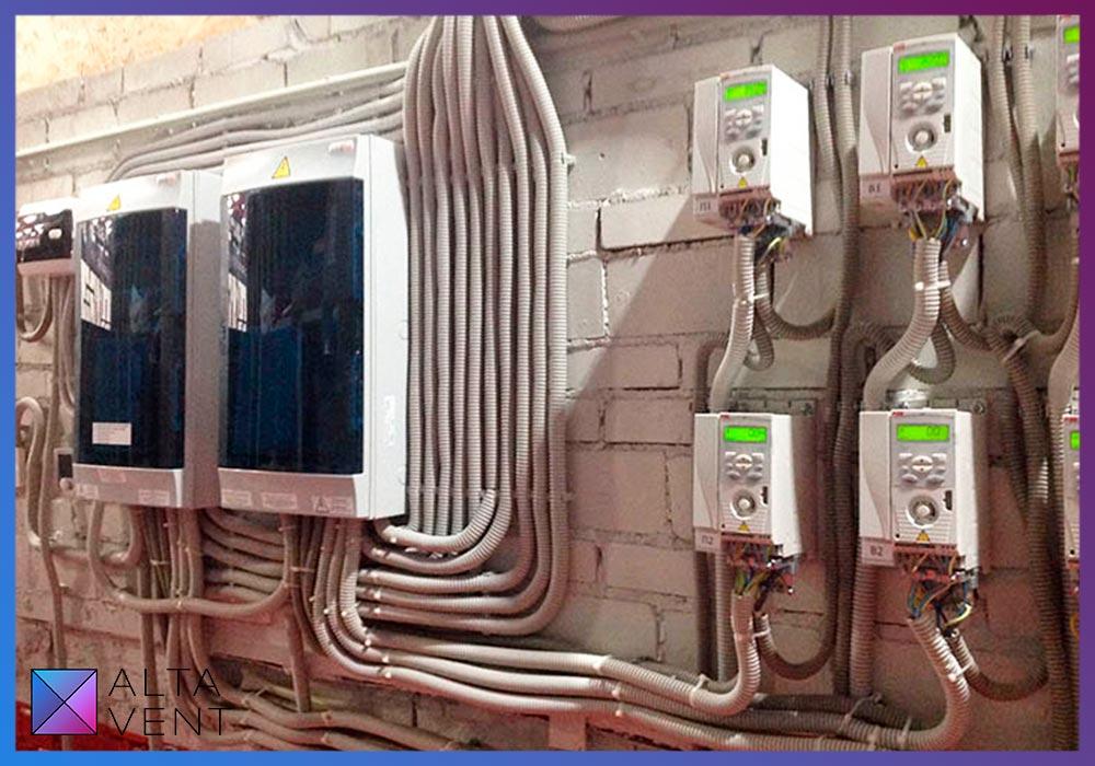Система контроля вентиляции в Москве от компании Альтавент