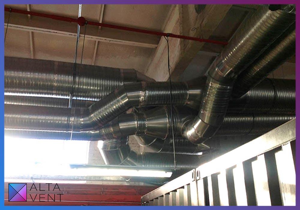 Системы вентиляции для спортивных залов и бассейнов
