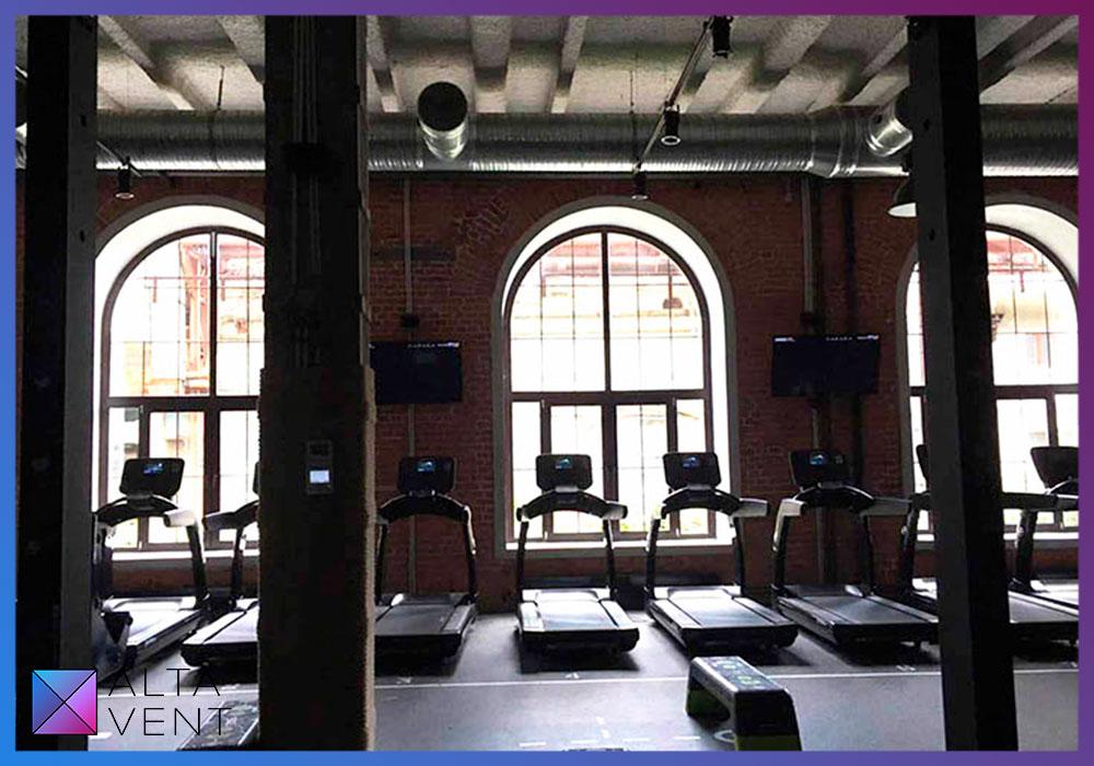 Проект и монтаж вентиляции для фитнес-клуба и спа-центра в Москве