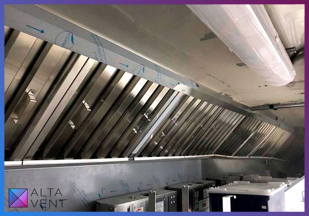 Кухонные технологические вытяжки из нержавеющей пищевой стали